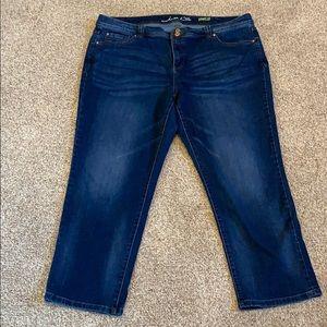 Inc 20W Straight Leg Jeans